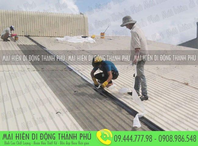 Mái tôn đẹp chống nóng Thành Phú