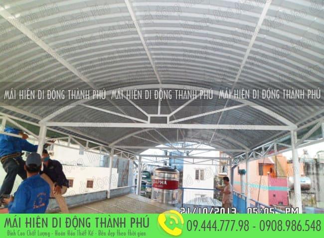 Mái vòm cố định Thành Phú là một trong những sản phẩm được người tiêu dùng ưa chuộng nhiều năm qua