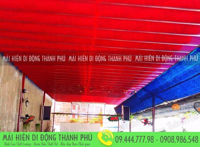 Thành Phú là cơ sở cung cấp mái hiên giá rẻ tại HCM