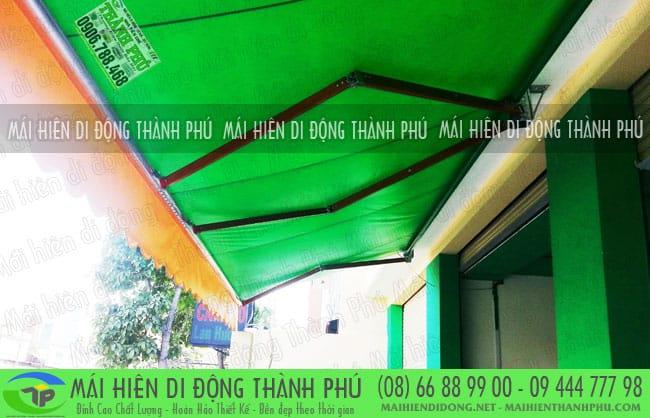 mai hien di dong quay tay 23 Mái hiên di động Thành Phú giá rẻ tại TPHCM