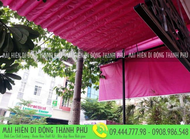 mai xep di dong nha hang 10 Mẫu mái xếp nhà hàng, mái xếp quán cafe mái xếp Thành Phú