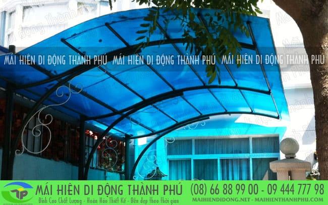 Mái vòm đẹp cho công trình