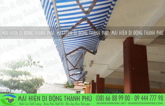 mai hien di dong quay tay 9 Mái hiên di động Thành Phú giá rẻ tại TPHCM